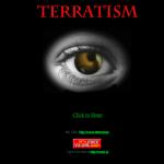 The Terratism splash page