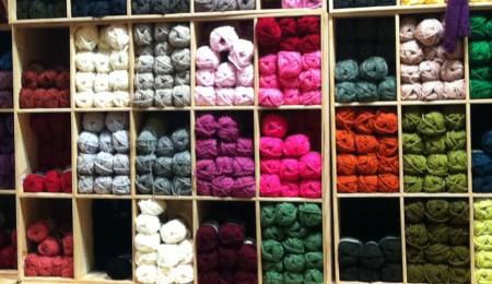 Yellin' Into Yarn Bins