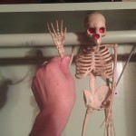 This is Slappy Joe. He survived and still lives in my closet to this day.