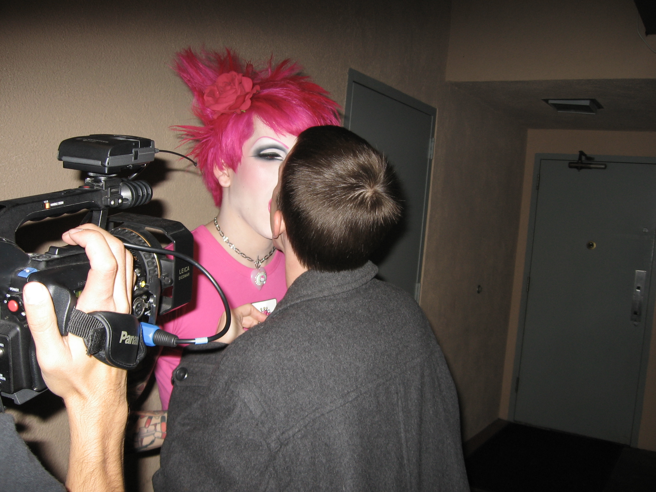 ... accosting Jeffree Star with his mouth